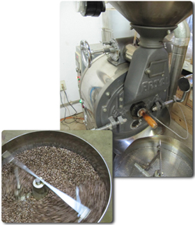 コーヒーの焙煎 (ローストについて)