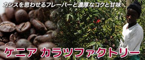スペシャルティコーヒー ケニア カラツファクトリーコーヒー豆